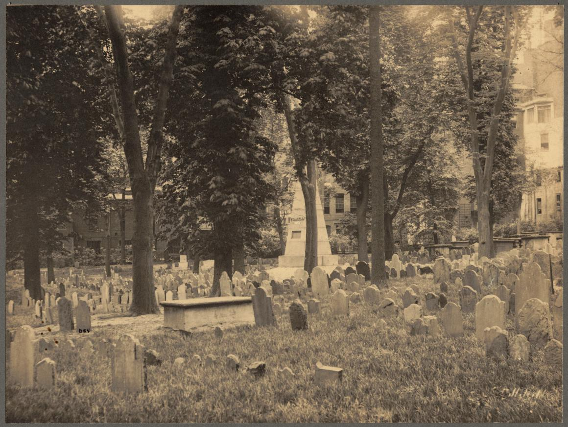 Granary Burying Ground 1898