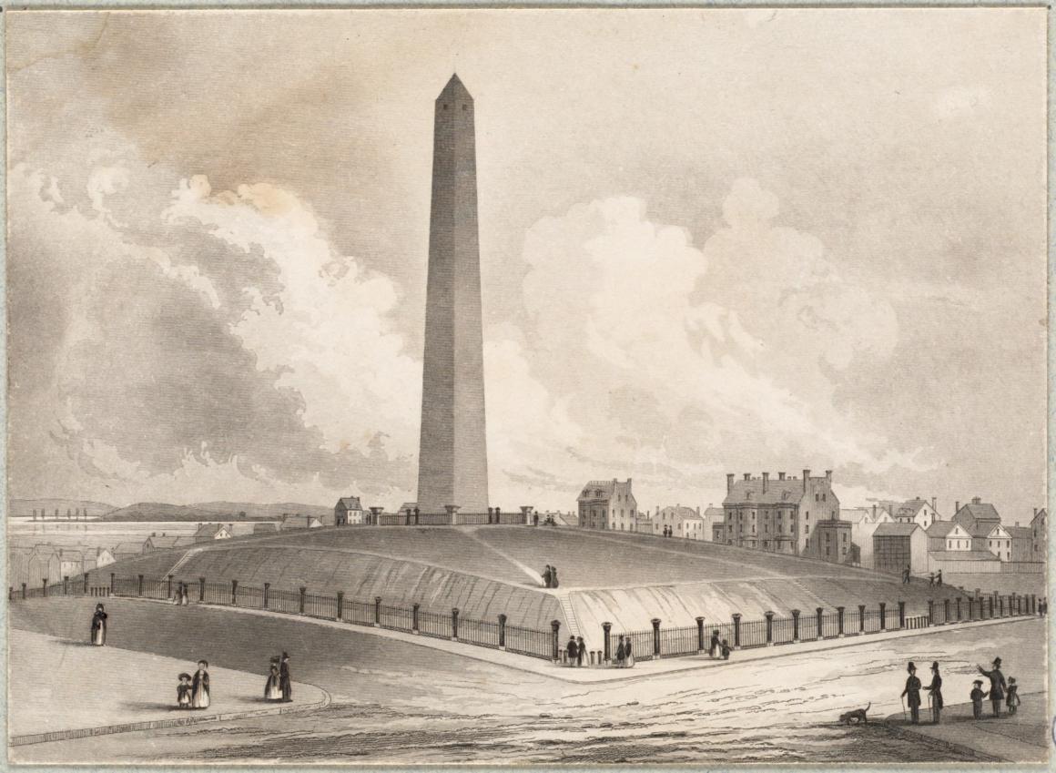Bunker Hill Monument 1848