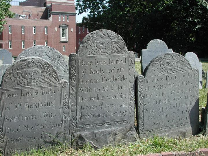Copp's Hill Headstones