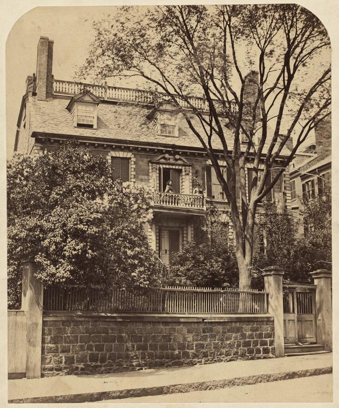 Hancock House, Beacon Hill ca. 1860