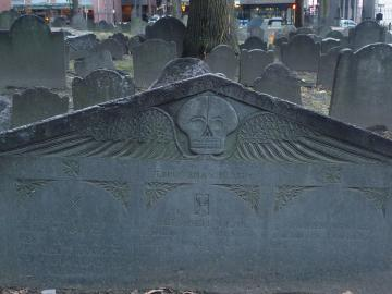 Three Person Tombstone